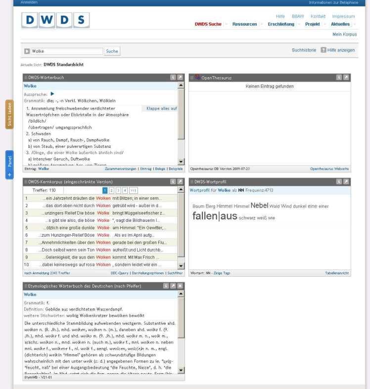 http://beta.dwds.de/?qu=Wolke
