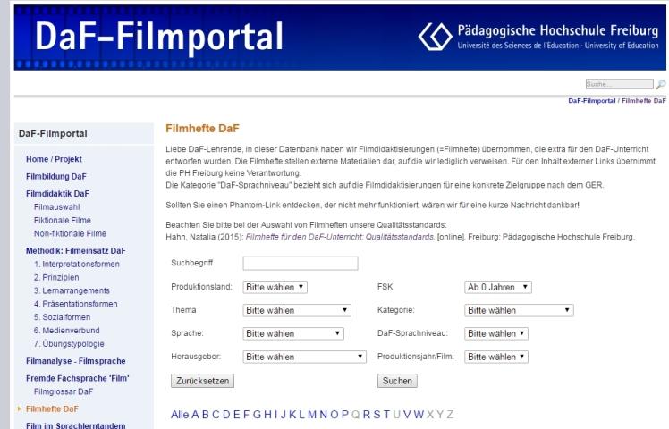 DaF-Filmportal