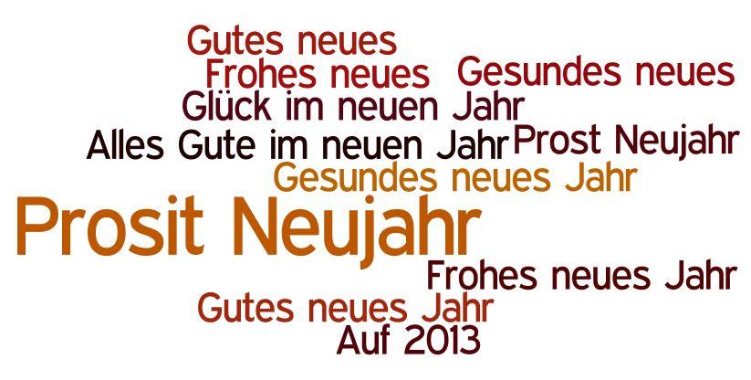 Neujahrswünsche Kurz