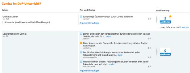 Screenshot-2018-1-11 Comics im DaF-Unterricht - brainstorming and voting tricider